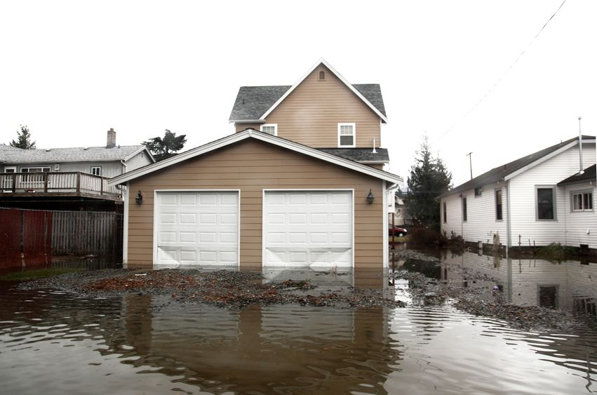 15816988 - flood in seattle area, usa, washington